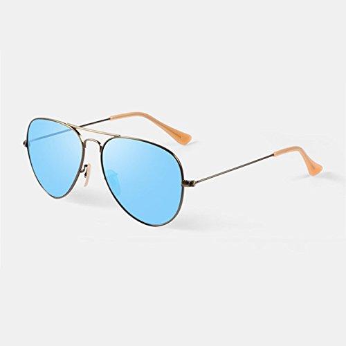 Sonnenbrille Blue Unisex Anti-UV polarisierte Licht Sonnenbrillen klar ( farbe : Hellblau ) WkIryz