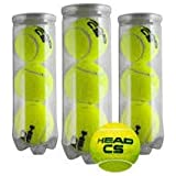 ZRZ SPORTS Head CS Pack 3 Botes de 3 Pelotas