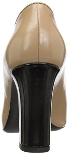 Leather Spiga Heel Block Women's baran Desert Pump Via SwBq6OP6