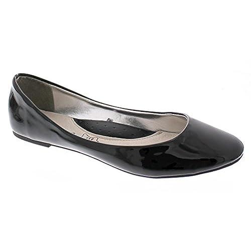 ec9aab6fed4d7 new Gold Toe Women's McKenna Ultra Glossy High-Shine Patent Ballet ...