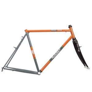Ritchey BreakAway Steel Cyclocross Frameset With Roller Case One Color, 60