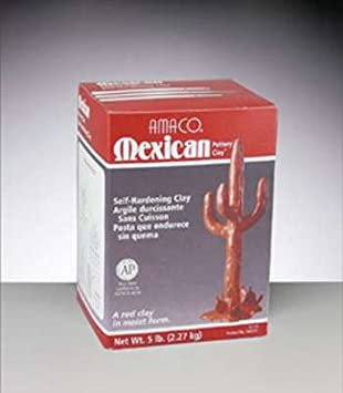 American Art Clay Mexican Pottery Clay 5 Lb.