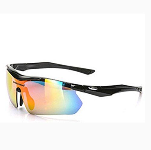 Prueba explosiones Gafas a Material a al Sol de Polvo NEGRO y de Aire la Prueba Libre Ciclismo PC de Impermeables OCRSOqFxw