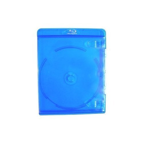 10 Empty Deluxe Blu-ray Replacement Cases for Blue-ray Disc Movies 11mm thickness with silver embossed logo Amaray FBA_4330158642