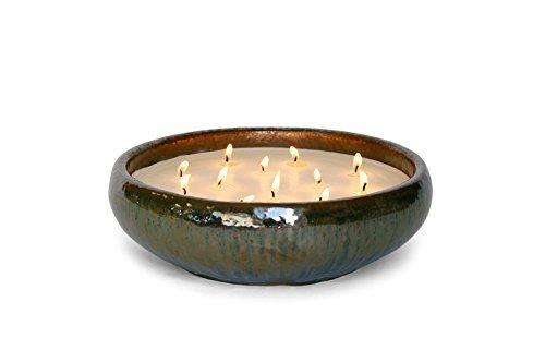 Bennett 12 Wick Candles (Green-Spanish Moss & Palm Citronella)