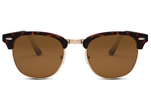 Rétro Sunglasses Ca Marron Hommes Miroitant Cheapass Femmes 004 Clubmaster R7Htxwq