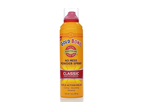 Gold Bond No Mess Powder Spray Classic Scent 7 Oz (3 (Classic Body Spray)