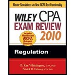 Wiley CPA Examination Rev - Fin Accounting & Reporting (10) by Delaney, Patrick R - Whittington, O Ray [Paperback (2009)]