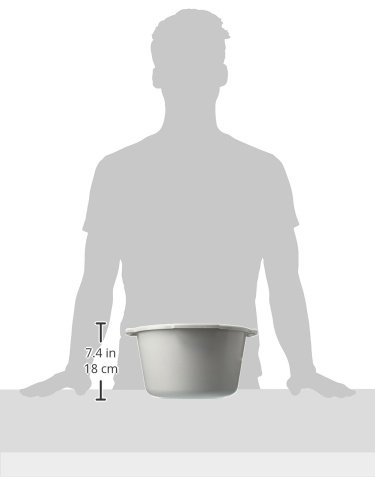 Lumex PP600009 Everyday Commode Pail without Cover, 7 quart by Lumex (Image #2)