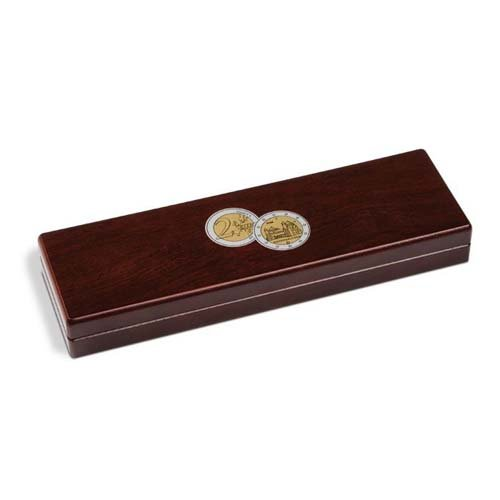 - Small coin box VOLTERRA, for 5x2-Euro comm. coins (Niedersachsen) in capsules