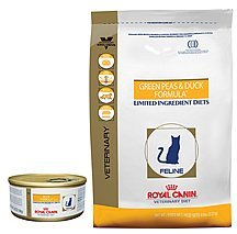 Royal Canin Veterinary Diet Green Pea & Duck Dry Cat Food 17.6 lbs bag