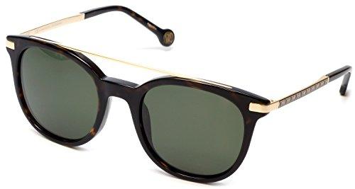 Carolina Herrera Designer Sunglasses SHE690-0722 in Havana & Green - Sunglasses Herrera Carolina