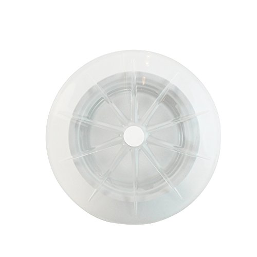 Leucos Recessed Low Voltage Light Polar Trim with Housing Frosted glass MR16 Satin White