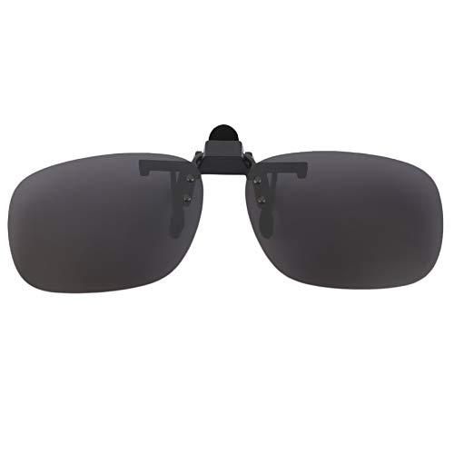 Mooremastle Clip de Las Gafas Lente de la Resina Ultra Delgada de la Lente polarizada UV 400 estéreo Colgantes Clip Gafas de...