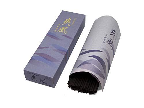- Gyokushodo Japanese Incense Sticks Sofu - Black Tea Scent - Less Smoke Type - Medium Pack - 5.5 inches 90 Sticks - Made in Japan
