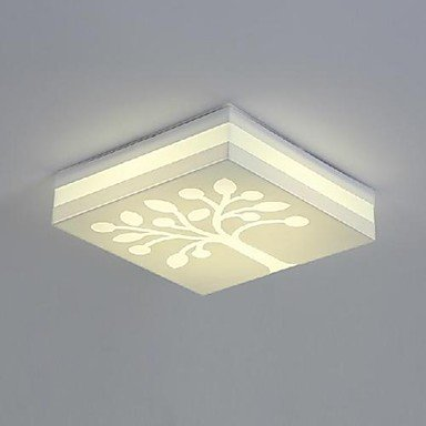 ite LED 220V 15W Warm White Light Simple Modern Northern European Style (Northern Lights Crystal Flower)