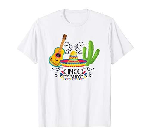 Cinco De Mayo Fiesta T-Shirt Costume Gifts Women Men