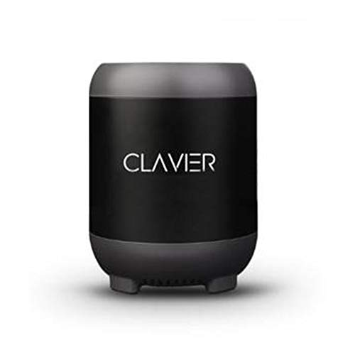 Clavier Atom Portable Bluetooth 5.0 Bluetooth Speaker, High-Definition Sound and Bass with Built-in mic Black