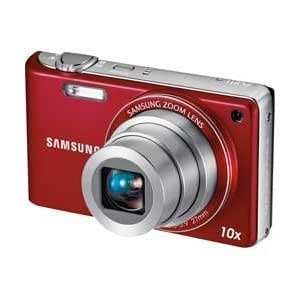 Samsung PL221 16MP Compact Digital Camera - Red