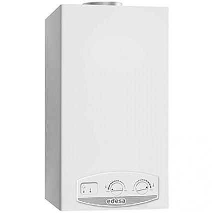 Calentador gas butano EDESA Aqualux-11PB interior/exterior encendido electrónico pilas butano/propano