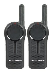 2 Pack of Motorola DLR1020 Two Way Radio Walkie Talkies by Motorola