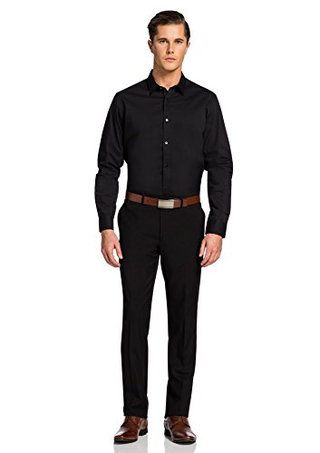 Abito Cahn Formale Black Formal Skinny Nero Yd Business Attillati Fit Cahn Mutanda Affari Dress Men's Km Uomini Pant Scarno Vestito Skinny Dress Degli RqHFpnHW