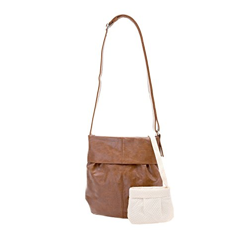 Zwei Mademoiselle M10 shopping /shoulder bag, 31 cm Brown