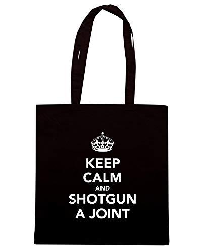 Borsa Nera Shopper KEEP Speed JOINT A TKC0386 AND Shirt SHOTGUN CALM 5wtExqSTx