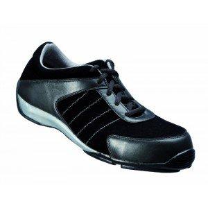 le dernier a9598 2dbcd Chaussures de sécurité femme basse cuir BACOU TPT HARMONY BLACK S1P SRA