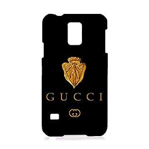 GUCCI Logo Phone Case Customized 3D Phone Case Snap on Samsung Galaxy S5 I9600 Luxury Logo Series GUCCI Logo