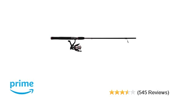 UglyStik Shakespeare USSP481UL/20CBO GX2 1-Piece Fishing Rod and Spinning Reel Combo, 4 Feet 8 Inch, Ultra-Light Power