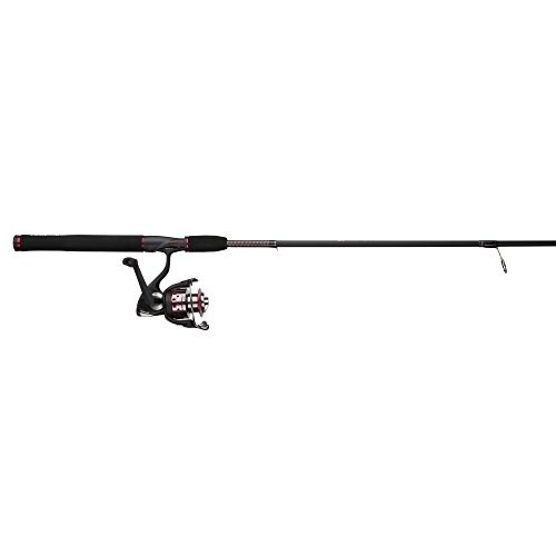 Shakespeare USSP661MH/40CBO Ugly Stik GX2 1-Piece Fishing Rod and Spinning Reel Combo, 6 Feet 6 Inch, Medium-Heavy ()