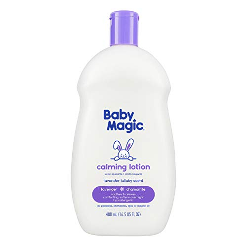Baby Magic Baby Magic Calming Lotion, Lavender & Chamomile, 16.5oz, 16.5 Ounce