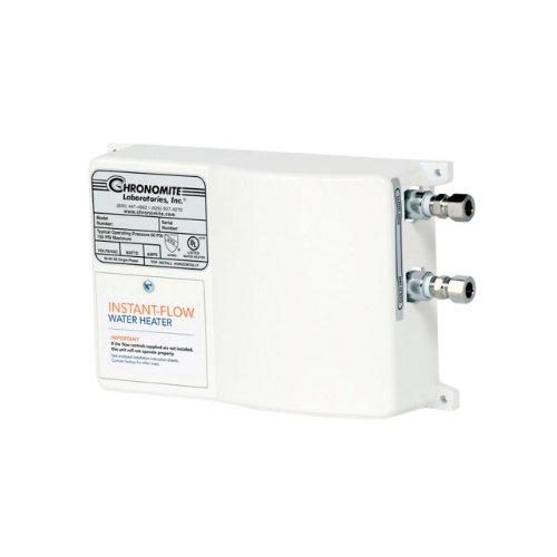 (Chronomite SR-40/240 HTR 240-Volt 40-Amp SR Series Instant-Flow Standard Flow Tankless Water Heater)