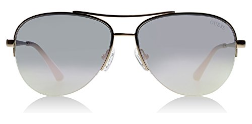 Guess GU7468 27C Rose Gold GU7468 Aviator Sunglasses Lens Category 3 Lens - For Shades Men Guess