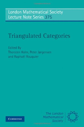 Triangulated Categories (London Mathematical Society Lecture Note Series)