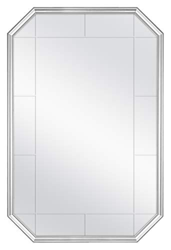 MCS Georgian Revival Grooved Wall Mirror 24 x 36 Inch ()