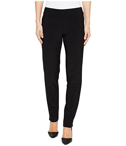 Krazy Larry Women's Microfiber Long Skinny Dress Pants Black 12 30 30