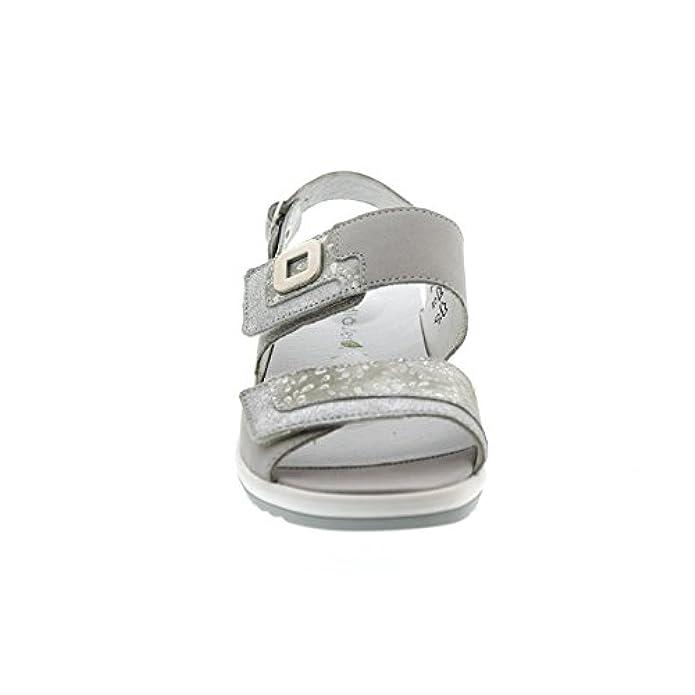 cement Grigio 013 Donna 225006307 Cement Waldläufer Silber Sandali Silber