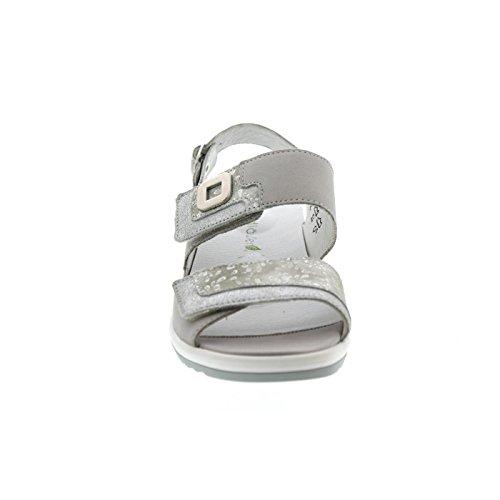 Waldläufer Cement 013 cement Silber Silber Donna 225006307 Sandali Grigio Er6FnqExgS