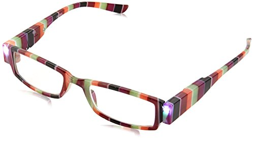 EVIDECO LED Reading Glasses with Light, LG Rainbow Optic By Finess Power +1.5 -  4332647557