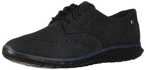 (Hush Puppies Women's Zula Tricia Oxford, Black Nubuck, 09.5 M US)