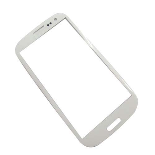 Generic New LCD Screen Front Lens Glass Cover for Samsung Galaxy I939 I9300 I535 SIII S3 -White