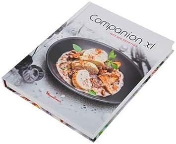 Moulinex MS-8030000934 - Libro de recetas Companion XL: Amazon.es: Hogar
