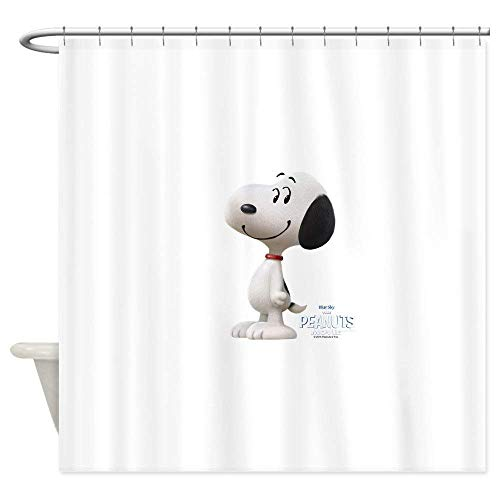 ghknjjkg Snoopy - The Peanuts Movie - Decorative Fabric Shower Curtain (60