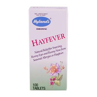 HYLANDS HOMEOPATHIC HAYFEVER TABLETS, 100 TAB -