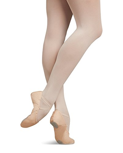 5 Leather Pink Flats Women's 5 Ballet Juliet M Capezio q7OzCpU