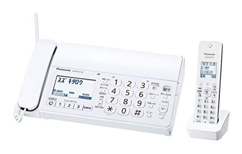 パナソニック デジタルコードレス普通紙ファクス(子機1台付き) KX-PD215DL-W