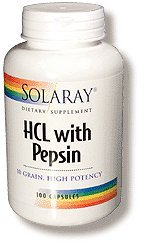 Hydrochloric Acid Pepsin - 8