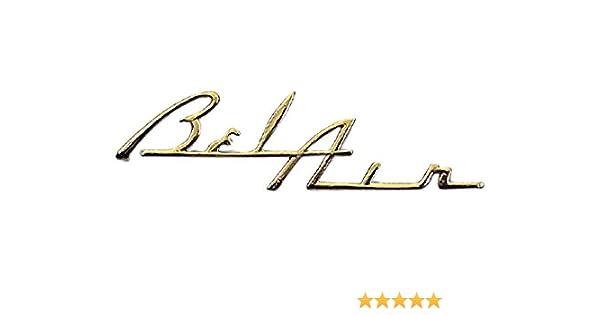 Danchuk 626 Bel Air Gold Dash Script